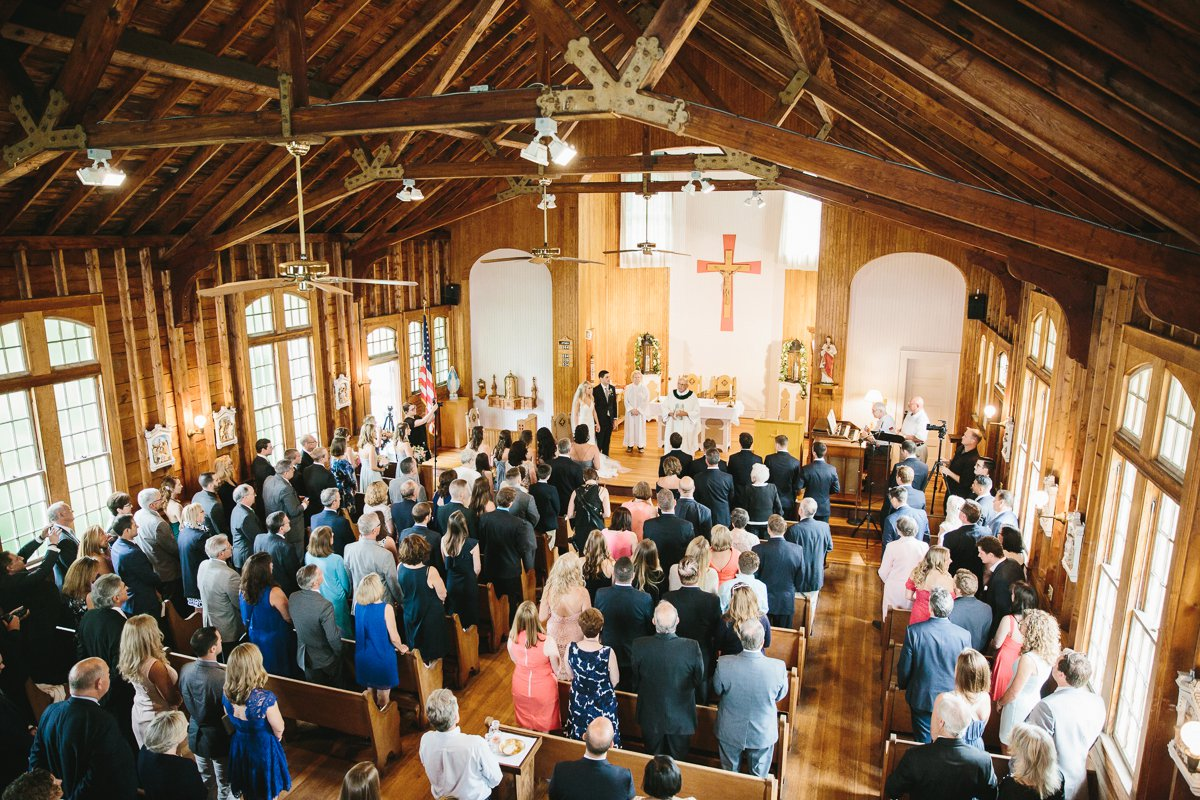 St Brendan Chapel Kennebunkport Maine Wedding Lindsay Hite Photography